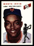 1954 Topps Archives #3  Monte Irvin  Front Thumbnail