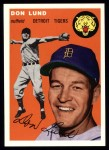 1954 Topps Archives #167  Don Lund  Front Thumbnail