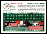 1954 Topps Archives #159  Dave Philley  Back Thumbnail