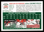 1994 Topps 1954 Archives #125  Harry Perkowski  Back Thumbnail