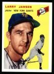 1954 Topps Archives #200  Larry Jansen  Front Thumbnail