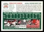 1954 Topps Archives #146  Don Johnson  Back Thumbnail