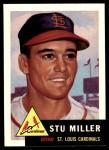 1991 Topps 1953 Archives #183  Stu Miller  Front Thumbnail
