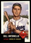 1953 Topps Archives #272  Bill Antonello  Front Thumbnail