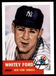 1953 Topps Archives #207  Whitey Ford  Front Thumbnail