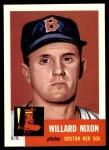 1953 Topps Archives #30  Willard Nixon  Front Thumbnail