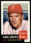 1991 Topps 1953 Archives #59  Karl Drews  Front Thumbnail