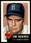 1953 Topps Archives #216  Jim Hughes  Front Thumbnail