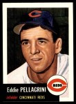 1991 Topps 1953 Archives #28  Eddie Pellagrini  Front Thumbnail
