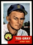 1991 Topps 1953 Archives #52  Ted Gray  Front Thumbnail