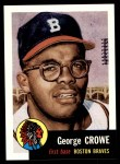 1991 Topps 1953 Archives #3  George Crowe  Front Thumbnail