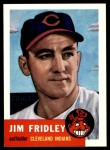 1953 Topps Archives #187  Jim Fridley  Front Thumbnail