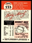 1953 Topps Archives #225  Bobby Shantz  Back Thumbnail