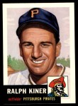 1953 Topps Archives #191  Ralph Kiner  Front Thumbnail