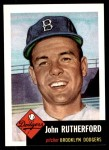 1991 Topps 1953 Archives #137  John Rutherford  Front Thumbnail