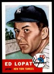 1953 Topps Archives #87  Eddie Lopat  Front Thumbnail