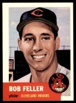 1991 Topps 1953 Archives #54  Bob Feller  Front Thumbnail
