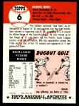 1991 Topps 1953 Archives #6  Sam Jones  Back Thumbnail