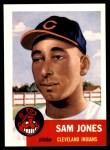 1991 Topps 1953 Archives #6  Sam Jones  Front Thumbnail