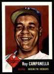 1991 Topps 1953 Archives #27  Roy Campanella  Front Thumbnail