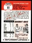 1953 Topps Archives #11  Sal Yvars  Back Thumbnail