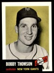 1953 Topps Archives #330  Bobby Thomson  Front Thumbnail