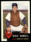 1953 Topps Archives #255  Dixie Howell  Front Thumbnail