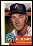 1953 Topps Archives #224  Lou Sleater  Front Thumbnail