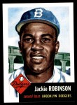 1953 Topps Archives #1  Jackie Robinson  Front Thumbnail