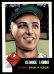 1991 Topps 1953 Archives #34  George Shuba  Front Thumbnail