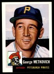 1991 Topps 1953 Archives #58  George Metkovich  Front Thumbnail