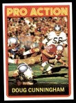 1972 Topps #345   -  Doug Cunningham Pro Action Front Thumbnail