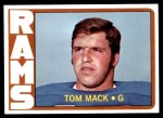 1972 Topps #337  Tom Mack  Front Thumbnail