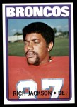1972 Topps #310  Rich Jackson  Front Thumbnail