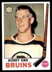 1969 Topps #24  Bobby Orr  Front Thumbnail
