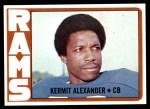 1972 Topps #289  Kermit Alexander  Front Thumbnail