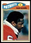 1977 Topps #14  Sam Adams  Front Thumbnail