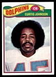 1977 Topps #72  Curtis Johnson  Front Thumbnail
