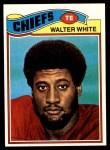 1977 Topps #107  Walter White  Front Thumbnail