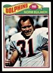 1977 Topps #134  Norm Bulaich  Front Thumbnail