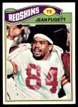 1977 Topps #12  Jean Fugett  Front Thumbnail