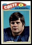 1977 Topps #13  Ken Mendenhall  Front Thumbnail