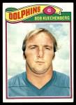 1977 Topps #33  Bob Kuechenberg  Front Thumbnail