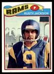 1977 Topps #42  Rusty Jackson  Front Thumbnail