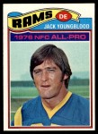 1977 Topps #80  Jack Youngblood  Front Thumbnail