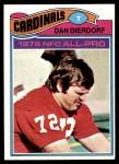 1977 Topps #90  Dan Dierdorf  Front Thumbnail