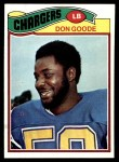 1977 Topps #97  Don Goode  Front Thumbnail