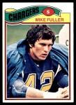 1977 Topps #116  Mike Fuller  Front Thumbnail