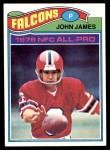 1977 Topps #120  John James  Front Thumbnail