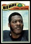 1977 Topps #121  Lionel Antoine  Front Thumbnail
